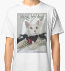 Happy Holidays New Years card Classic T-Shirt