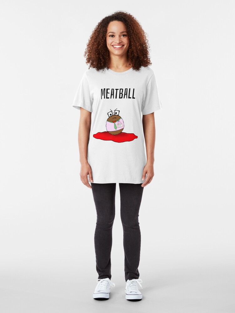 Alternate view of Meatball Slim Fit T-Shirt