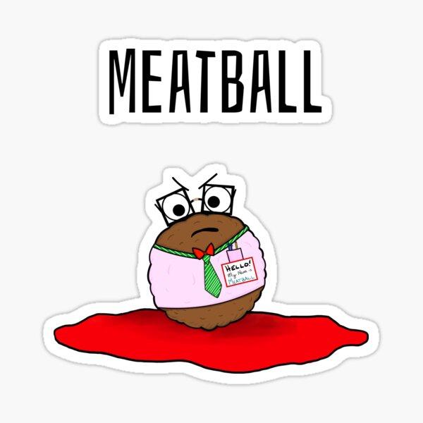 Meatball Sticker