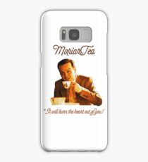 """MoriarTea: """"It will burn the heart out of you!"""" Samsung Galaxy Case/Skin"""