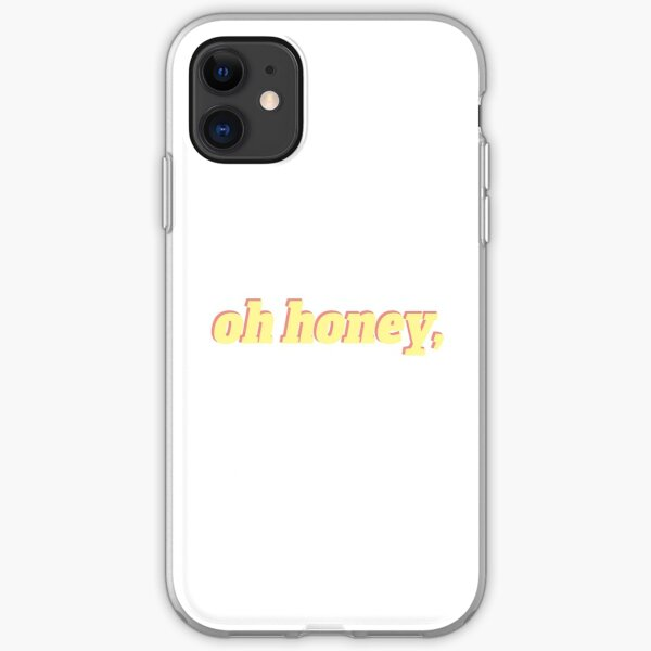 oh honey, iPhone Soft Case