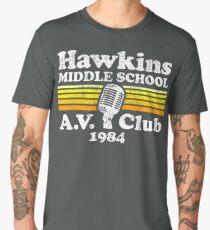 Hawkins Middle School A.V. Club Men's Premium T-Shirt