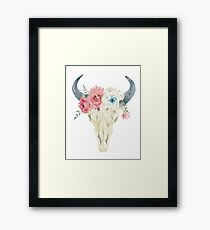 Stay Wild boho chic design  Framed Print