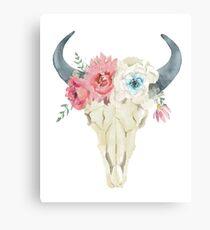 Stay Wild Boho schickes Design Leinwanddruck