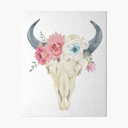Stay Wild boho chic design  Art Board Print