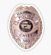Chief Hopper's Badge Sticker