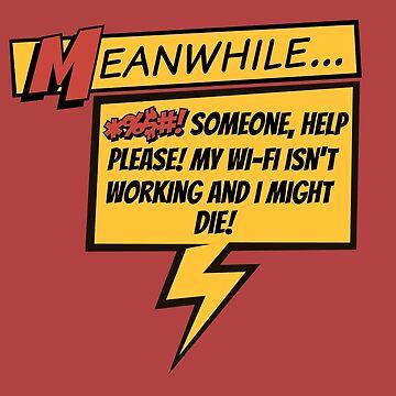 Comic Book Wifi by TellAVision