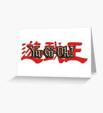 Yu Gi Oh! Greeting Card