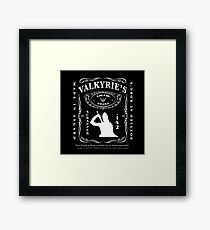Valkyrie's Liquor - Bottled At Korg's Framed Print