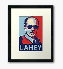 LAHEY  Framed Print