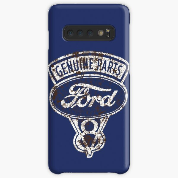 Oil Stained Ford Sign Samsung Galaxy Snap Case