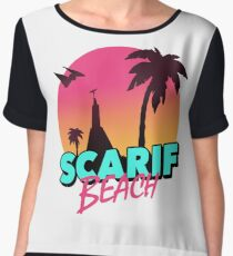 Scarif Beach Women's Chiffon Top