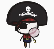 Yarrg, Pirates Can Blow Bubbles Too!