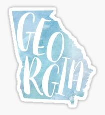 Georgia Sticker