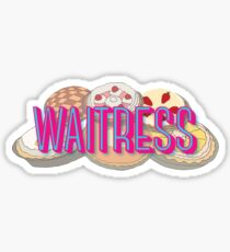 Waitress the Musical Broadway Sticker
