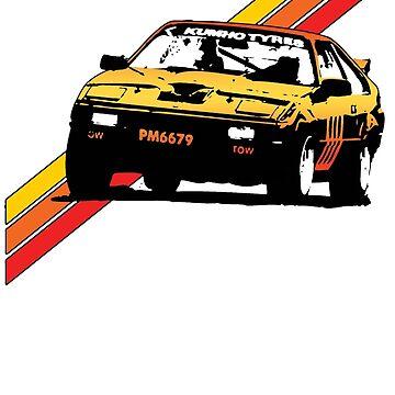 MA61 Racecar by tanyarose