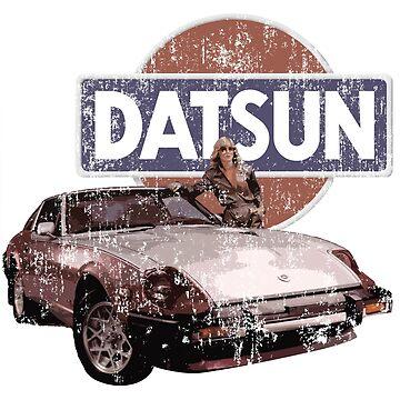 Vintage Datsun 280zx by tanyarose