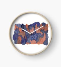 Trees and Forest Illustration  Clock