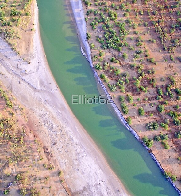 fitzroy river arieal  by Elliot62