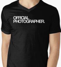 Official Photographer Men's V-Neck T-Shirt