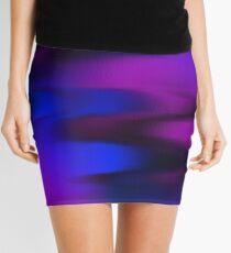 Keep It Wavy (purple, blue, black) Mini Skirt