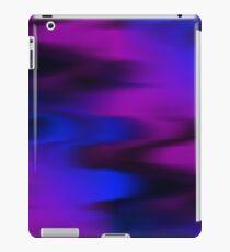 Keep It Wavy (purple, blue, black) iPad Case/Skin
