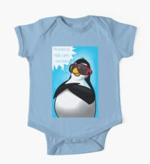 Penguin Fun - Cool Times One Piece - Short Sleeve