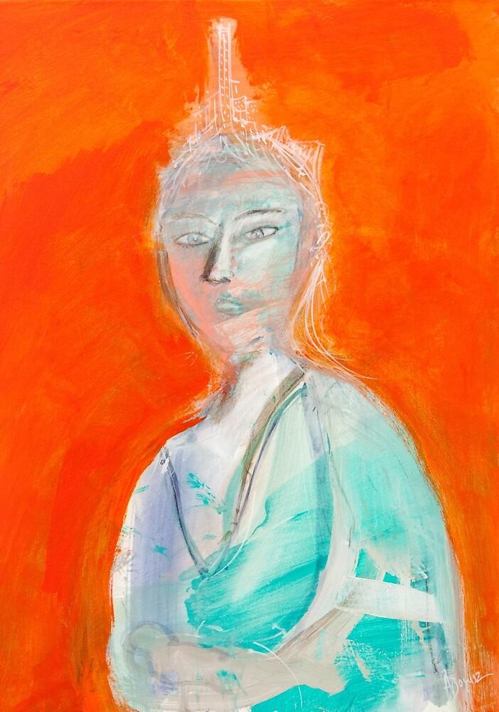Inner city girl by Adam Bogusz