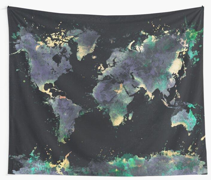 world map 126 #worldmap #map by JBJart