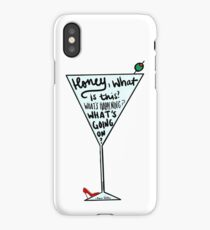Honey what is this? iPhone Case/Skin