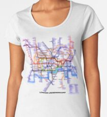 London Underground Tube Women's Premium T-Shirt