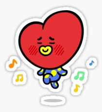 BTS Tata Sticker