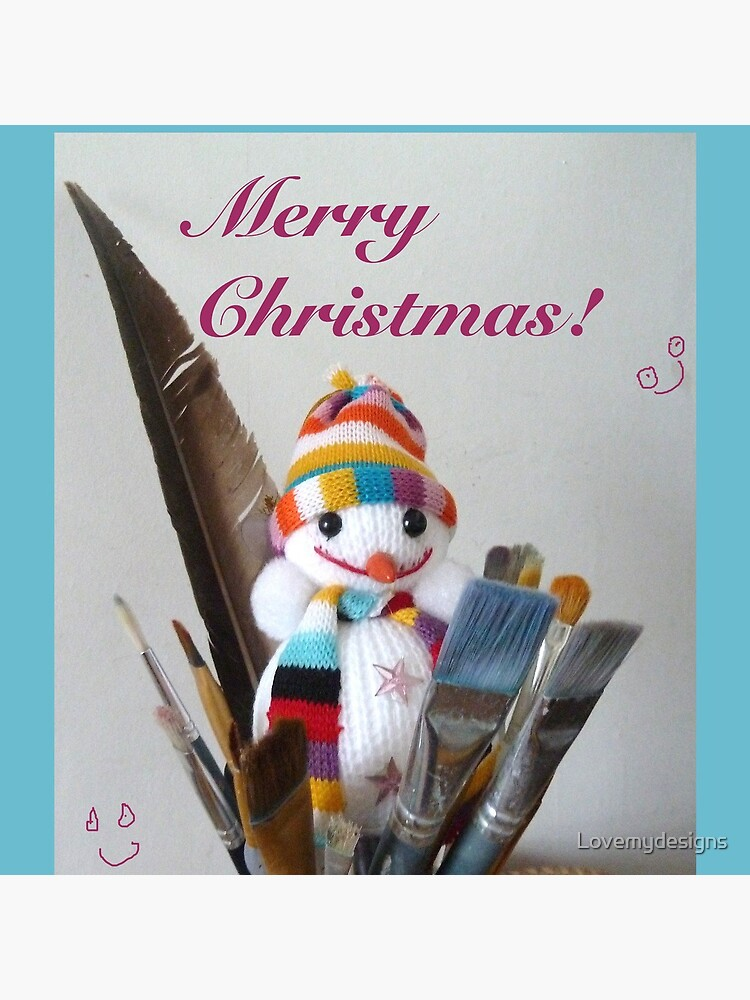 Merry Christmas dear artist by Lovemydesigns