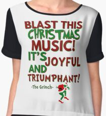 The Grinch - Triumphant Chiffon Top