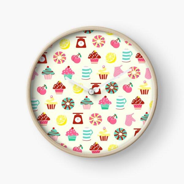 Cupcake Design  Clock