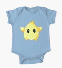 Mario Galaxy Gelb Luma Baby Body Kurzarm