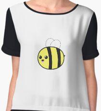 Smiling Bumble Bee Chiffon Top