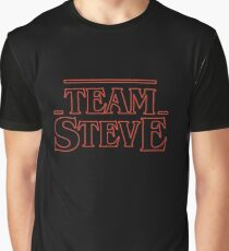 Team Steve, Stranger Things - go Steve! Graphic T-Shirt