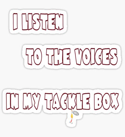 Voices Sticker