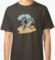 Cute and different, cartoon raccoons. Classic T-Shirt