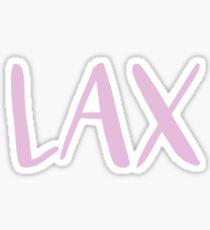 lax Sticker