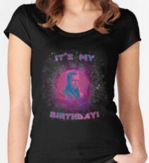 Grandmaster - It's My Birthday! Women's Fitted Scoop T-Shirt