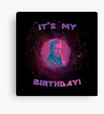 Grandmaster - It's My Birthday! Canvas Print