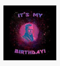 Grandmaster - It's My Birthday! Photographic Print