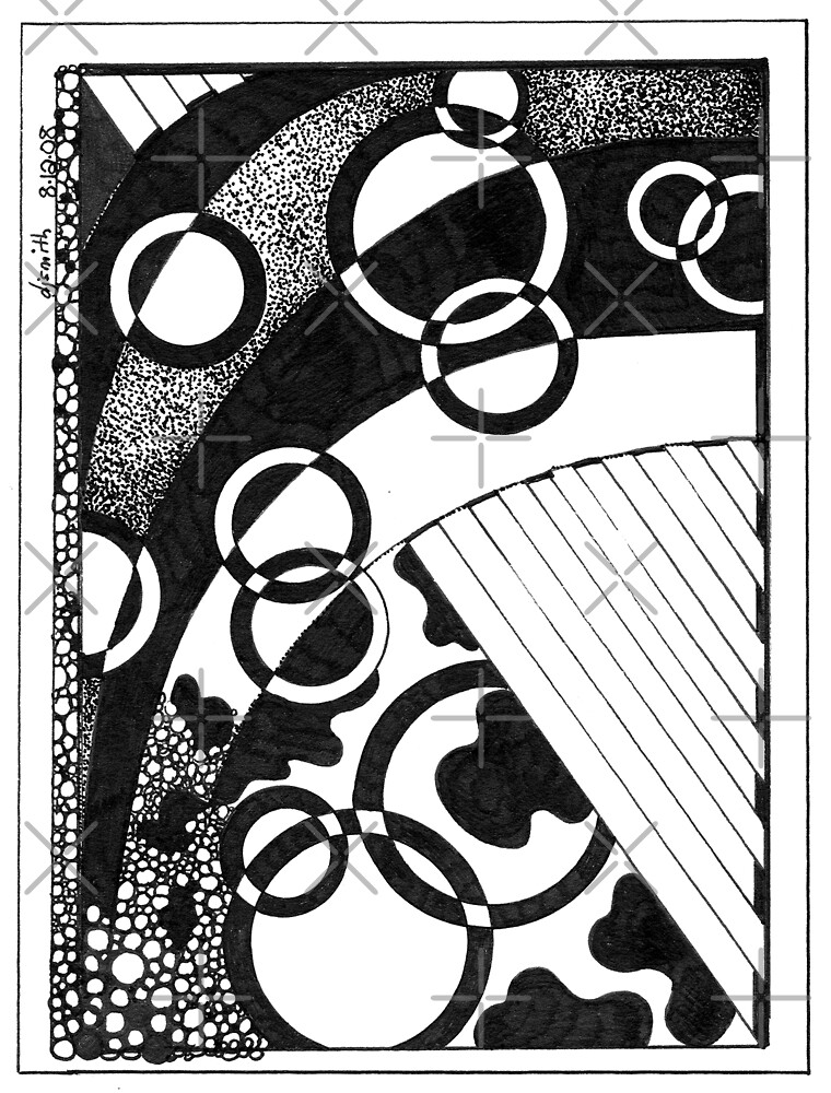 Recondite, Ink Drawing by Danielle Scott