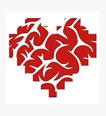 Pixel brain Photographic Print