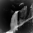 Mountain Waterfall by Gwright313