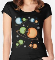 ORBITES Women's Fitted Scoop T-Shirt