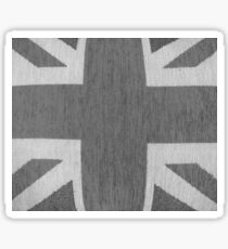 UK - Black/White Sticker