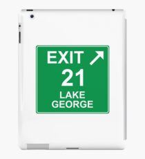 Exit 21 Lake George iPad Case/Skin